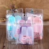 PET makeup empty cosmetic bottles set for travel use Kit