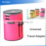 (110128) Best Promotional Gift International Universal Travel Adapter With Usb Port                                                                         Quality Choice