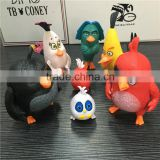 custom make 3d plastic vinyl figurines,make oem design collectible pvc bird vinyl figurines