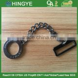 Ring and Rectangle Buckle with chain metal badges -- M1762
