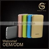 New alibaba golden supplier high speed 5v 6000 mah portable power bank external battery charger for mobile phone
