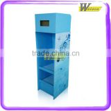 floor display stand and pop up display stand and display stand for silk ribbon in fabric shop