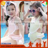 2016 New design kid swimming suit for summer girl swimwear whoelsale kid bathing suit (S060)