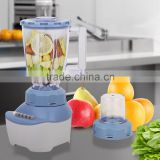 Jialian JL-B666 New Design PC Jar 4 Speeds 6 Button Electric Plastic 2 in 1 Stand Blender
