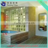 Supply clear and colored glass bricks, decorative glass,glass block walls in bathroom                                                                         Quality Choice