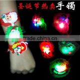 Christmas Party accessories LED Santa bracelet
