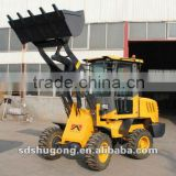 hot sale 1.5 ton mini wheel loader use in constructioin site