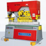 Q35Y-25,hydraulic ironworker with punching shearing and notching function,equip with empress anticipate