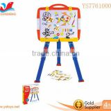 Funny Kids Erasable Multi-function easel wtth graphical &letters Technical Drawing Board