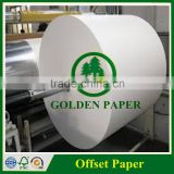 55gsm-250gsm white woodfree offset Paper in roll and sheet                                                                         Quality Choice