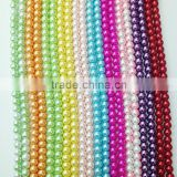 fashion white glass pearl,pearl loose strand                                                                         Quality Choice