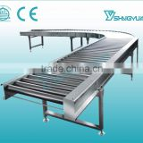 Trending hot products portable roller conveyor,roller electric conveyor,small roller conveyor from China factory