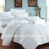 China Duck Down And Feather Quilt Golden Supplier For Hotel YKY394