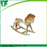 Cheap Kids Wooden Rocking Horse Toy
