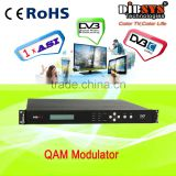 Single channel ASI to RF cable digital tv modulator