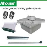 Double gate openers,Underground swing gate opener, Wrought Iron Electric Gates, Swing Auto Motor Remote Gate Opener, (CE)