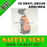 2013 New fashion 100% polyester reflective walking or hunting dog safety vest