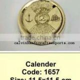Brass 50 year calender