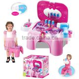 Multifunctional Children Dresser Chair Toilet Table Can Fold Toys for kids