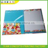 Custom paper printed school presentation folders