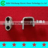 High Quality Down Lead Wire Clamp for Fiber Optic Cable Fitting/ Electrical Wire Clamp/ Power Accessory