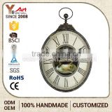 Hot Quality Fancy Mdf Mini Craft Clock Cheap Modern Wall Clocks