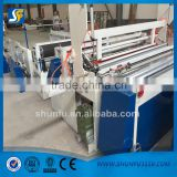 tissue product type bathroom tissue paper machine,toilet paper , tissue paper embossing roller machine supplier