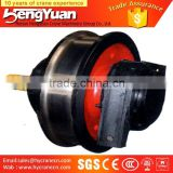 China wholesale Hot Forged wheels for sale crane spare parts cast iron industry wheels