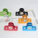 Six color Go Big Adapter Aluminium Mount for GoPro 4/3 / 2
