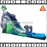18ft elephant giant inflatable water slide,commercial grade inflatable water slides with small pool