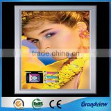 factory price any size wall mounting poster board snap frame/hanging poster board snap frame
