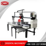 Factory outlet double rail stone cutting table saw machine