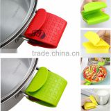 Multifunction Colorful Heat Resistant Durable Customize Fancy Kitchen Silicone Rubber Oven Gloves