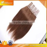 100% Human Virgin Brazilian 30 Inch Remy Tape Hair Extension for Black Women
