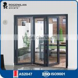 ROGENILAN 75# (AS2047) soundproof aluminium commercial accordion folding doors