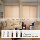 Bintronic Taiwan Home Office Furniture Blinds Motorized Vertical Blinds Electric Track Curtain Rail
