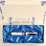 blue and white porcelain gift metal rollerball pen