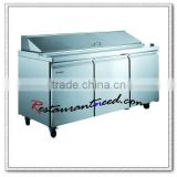 R239 3 Doors Fancooling Pizza Refrigerated Counters