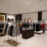 Stainless steel PVD yellow gold plated Clothing display for retail store                                                                         Quality Choice