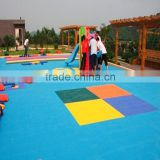 Ontdoor Usage and Plastic Type interlocking used for table tennis court outdoor flooring