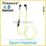 iTreasure best sellers of 2015 bluetooth headphones wireless handsfree bluetooth for samsung galaxy s6