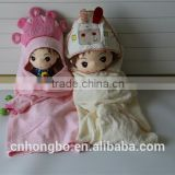 muslin /terry fabric baby bath animal hooded towels pattern wholesale