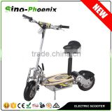 "Hot selling 2 wheel EVO scooter electric 1500w with rear long mudguards and 12"" big wheels (PES02-48V )"