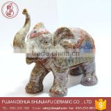 Ceramic Indian elephant decoration elephant statues