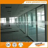 Yekalon curtain wall system modern banquet pvc walls wood hall partition