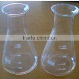 Conical flask with spout in lab