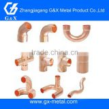BS standard coupling, male, female copper fitting