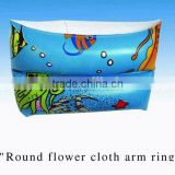pool float pvc inflatable water armband, promotional baby swimming arm ring
