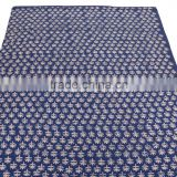 Indian Cotton Hand Block Print Fabric Ethnic Voile For Upholstery Crafting Dress Making Throw