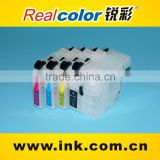 Refill inkjet cartridge J100 ink cartridge for brother DCP-J100, J105, J200 (LC539 BK, LC535 C/M/Y cartridge)